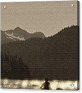 Kayaking On Kachemak Bay Acrylic Print