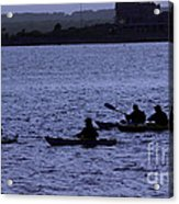 Kayaking Stonington Acrylic Print