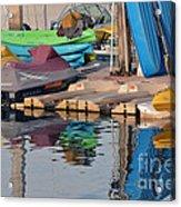Kayaks Acrylic Print