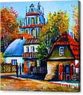 Kazimierz Dolny In Fall Acrylic Print