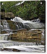 Kbal Chhay Waterfalls Acrylic Print