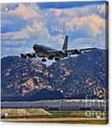 Kc-135 Take Off Acrylic Print