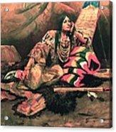 Keema Indian Princess Acrylic Print