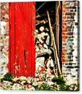 Keep All Fire Exits Clear Acrylic Print