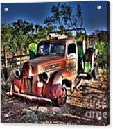 Keep On Truckin Acrylic Print