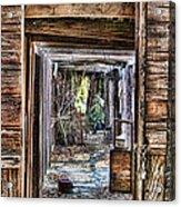 Keep Out By Diana Sainz Acrylic Print