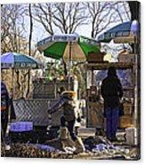 Keep Park Clean - Central Park - Nyc Acrylic Print