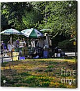 Keep Park Clean Acrylic Print