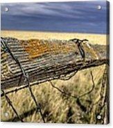 Keep The Gate Post Steady Acrylic Print