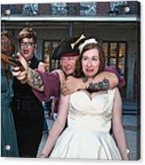 Keira's Destination Wedding - The Pirate Part Acrylic Print