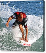 Kelly Slater World Surfing Champion Copy Acrylic Print