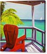 Kelly's Beach House Acrylic Print
