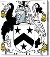 Kemble Coat Of Arms Irish Acrylic Print