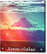 Kenai Alaska Mount Redoubt Acrylic Print