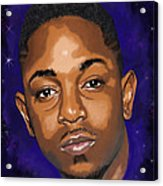 Kendrick Had A Dream Acrylic Print