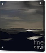 Kenmare Bay By Night Acrylic Print