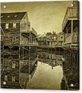 Kennebunkport Dock Square Acrylic Print
