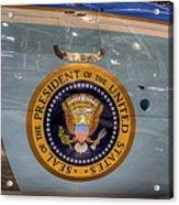 Kennedy Air Force One Acrylic Print