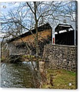 Kennedy Covered Bridge - Chester County Pa Acrylic Print