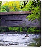 Kennedy Covered Bridge - Kimberton Pa. Acrylic Print