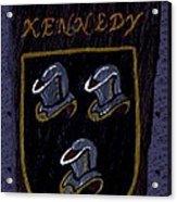 Kennedy Crest Acrylic Print