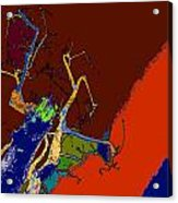 Kenneth's Nature - Dying To Live - Series - 09 Acrylic Print