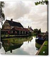Kennett Amd Avon Canal Uk Acrylic Print