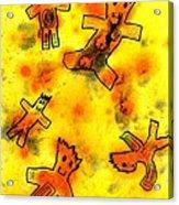 Kennybot Number 1 Acrylic Print