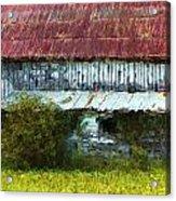 Kentucky Barn In Summer Acrylic Print