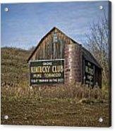 Kentucky Club Barn Acrylic Print