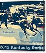 Kentucky Derby Champion Acrylic Print by RJ Aguilar
