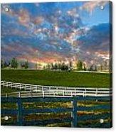 Kentucky Famous Horse Hotel Acrylic Print
