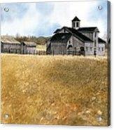 Kentucky Farm Acrylic Print