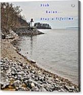 Kentucky Lake Inlet Lighthouse Travel Acrylic Print