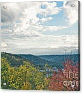 Kentucky Mountains In Autumn Acrylic Print
