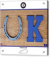 Kentucky Proud Acrylic Print