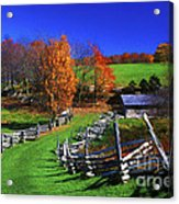 Kentucky Settlement Acrylic Print