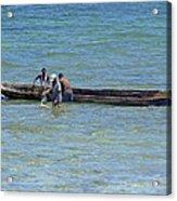 Kenyan Fishermen Acrylic Print