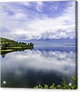 Kerkini Lake View. Acrylic Print