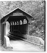 Herns Mill Bridge Acrylic Print