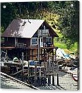 Ketchikan Buildings With Character 2 Acrylic Print