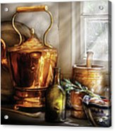 Kettle - Cherished Memories Acrylic Print