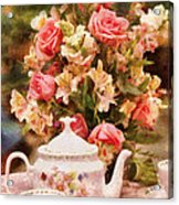Kettle - More Tea Milady  Acrylic Print