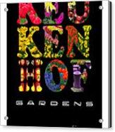 Keukenhof Gardens The Poster Acrylic Print