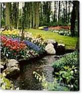 Keukenhof Tulip Gardens Acrylic Print
