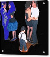 Kevin Howard's Wedding Dancers Tucson Arizona 1990-2012 Acrylic Print