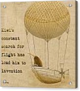 Kevs Invention Acrylic Print