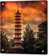 Kew Gardens Pagoda Acrylic Print