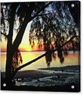 Key Biscayne Sunset Acrylic Print