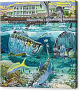 Key Largo Grand Slam Acrylic Print